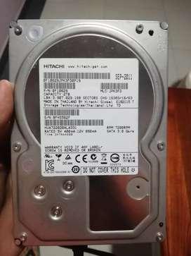 Disco duro Hitachi 2tb 7200Rpm