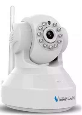 Camara Ip Robotica Wi-fi Seguridad Vstarcam Inalambrica V/n