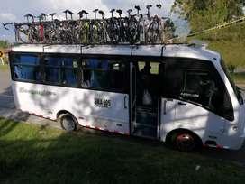 Servicio de transporte en Busetas