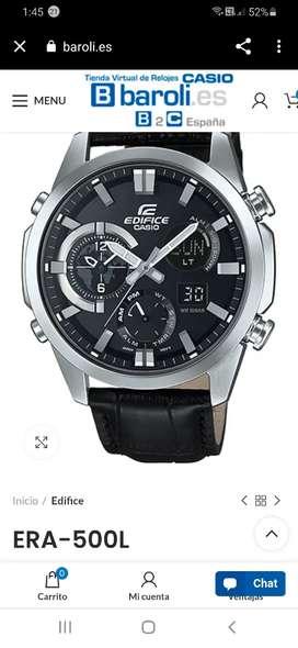 Reloj casio edifice ERA 500L original