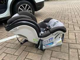 Silla bebe carro Britax ClickTight