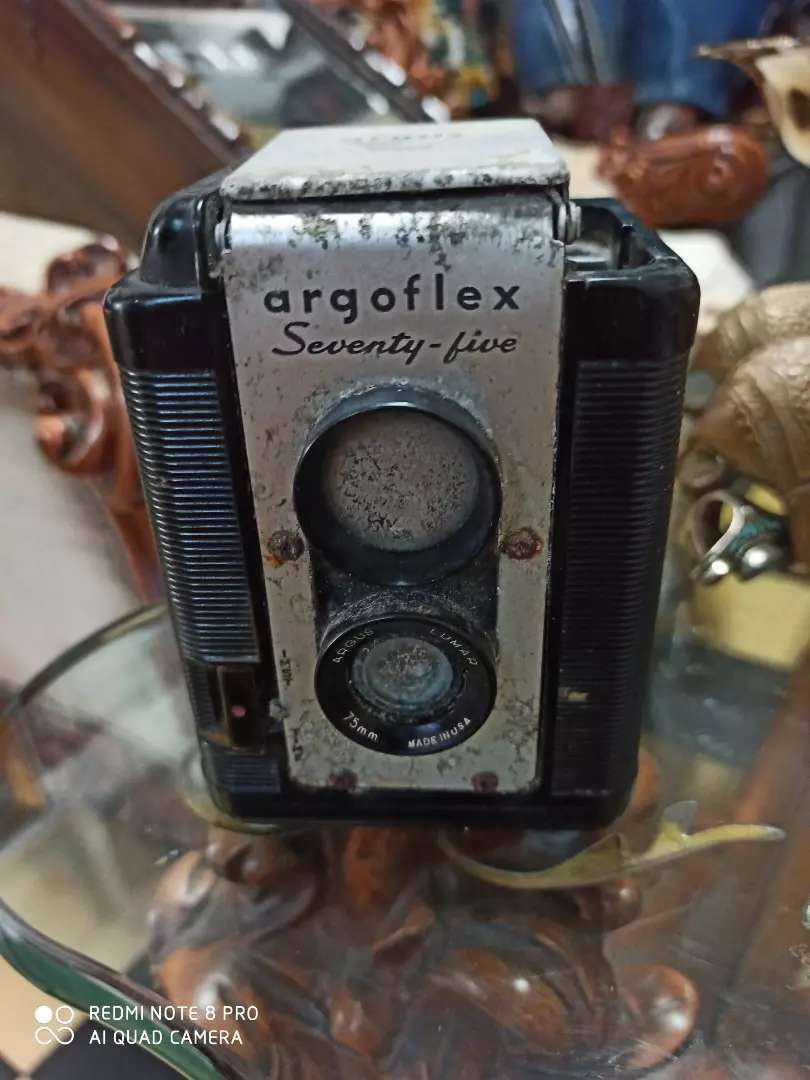 Cámara antigua argoflex