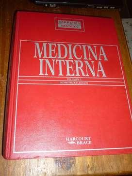 MEDICINA INTERNA . FARRERAS ROZMAN . 13 EDICION . 2 TOMOS VOL 1 Y 2 LIBROS HARCOURT BRACE ESPAÑA 1997