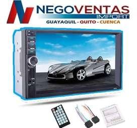 RADIO PANTALLA DE 7 PULGADAS BLUETOOTH USB SD AUX FM
