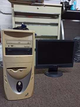 CPU + MONITOR