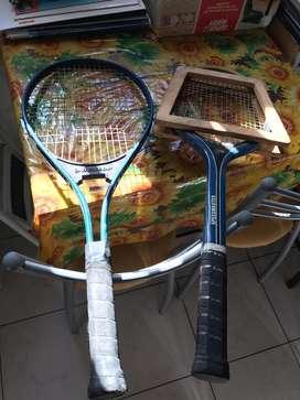 Dos  Raquetes Dunlop de Tenis