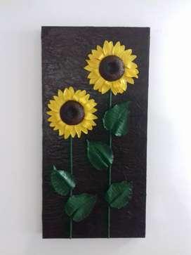 Cuadros Florales en 3D