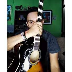 Doy clases de guitarra a domicilio