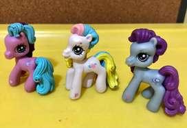 My little Pony - lote x 3 $800