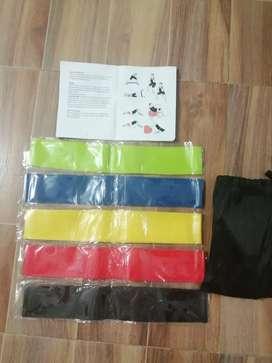 Kit de bandas elásticas x 5 unidades