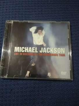 Michael Jackson dvd concierto.