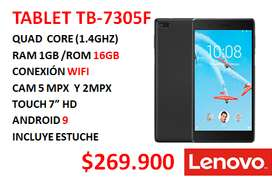 TABLET LENOVO 7 PULG WIFI