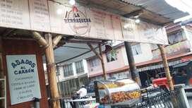 Excelente negocio de comidas y asadero acreditado