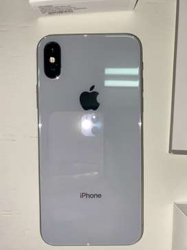 Vendo iPhone X blanco en excelente estado