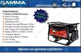 Vendo grupo electrogeno gama 2500