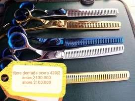 Oferta tijeras para peluquería canina