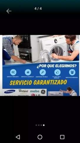 Servicios técnicos de refrigeración y lavadoras