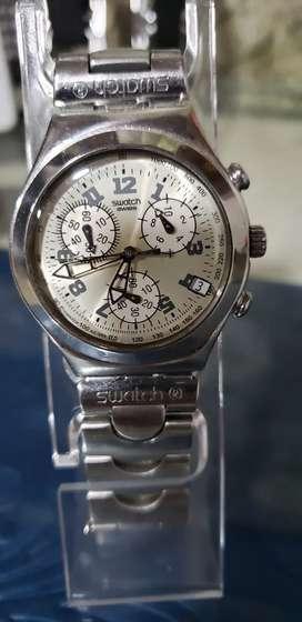 Reloj swatch en Acero