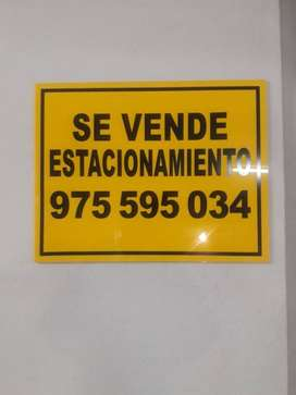 VENDO 5 ESTACIONAMIENTOS