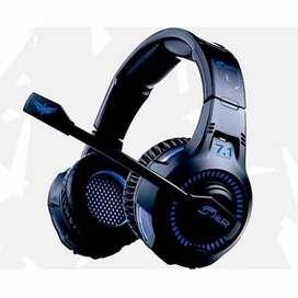 Diadema Ultimate Gamer Surround Usb 7.1 J&r 033-mv Microfono