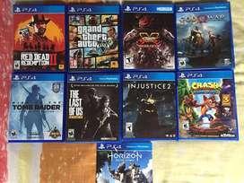 juegos ps4 vendo o cambio por juegos recientes