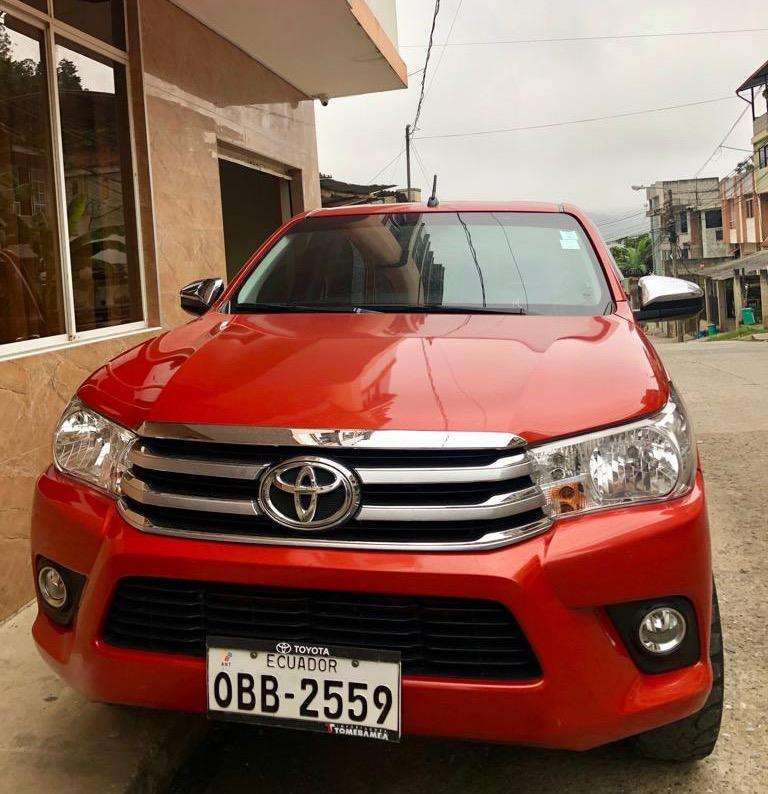 Toyota Hilux 2016 Perfecto Estado 0