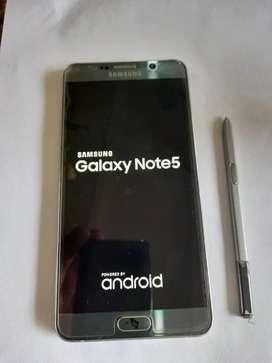 Vendo celular Samsung Galaxy note 5 usado