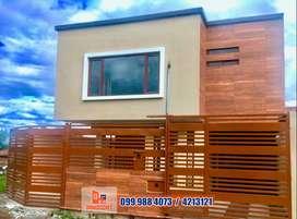 Casa en venta esquinera por estrenar, Cuenca, C604