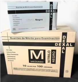 CAJON DE GUANTES NITRILO NEGRO