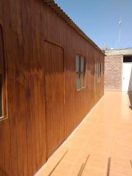 módulos de madera