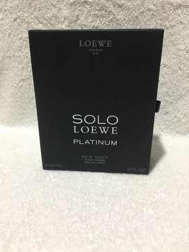 Caja de Perfume Solo Loewe.
