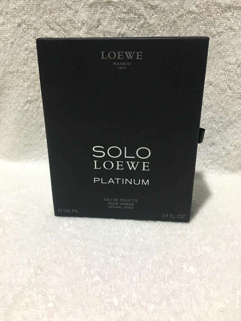 Caja de Perfume Solo Loewe. 0