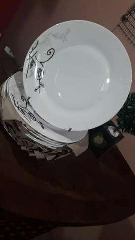 Platos de porcelana 24 cm
