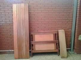 Dos camas excelente madera