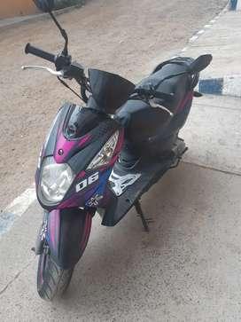 Moto AKT muy bien cuidada