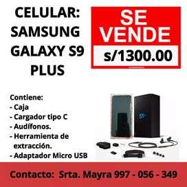 Venta de CELULAR GALAXY S9+