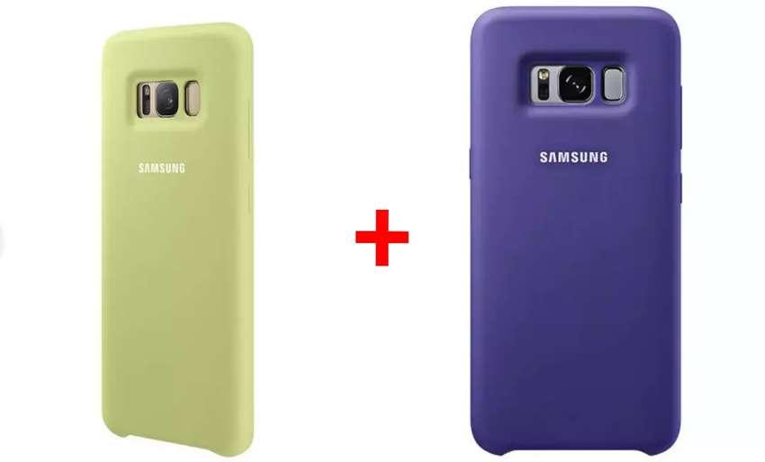Forro Antichoque X 3 Uds Cover Original Samsung para S8 + Entrega