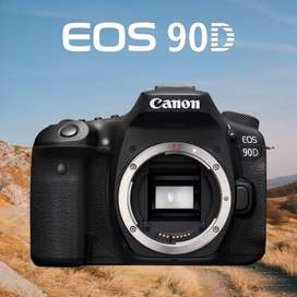 Canon Eos 90d Dslr Body Only Financiamiento - Inteldeals