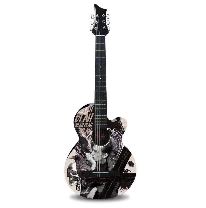 Guitarra Acústica Blah Blah Blah Dr. Fox. 0