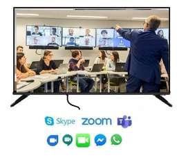 Dispositivo para Teletrabajo, Clases Virtuales, videoconferencia, vídeo llamadas, teleconferencia, hibrido, online