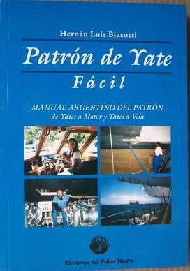 7 LIBROS PATRON DE YATE FACIL