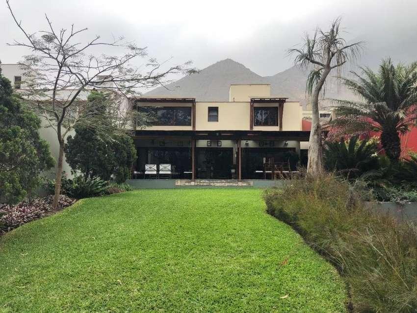 Venta de Linda Casa en 1era Etapa de Los Alamos de Monterrico 0
