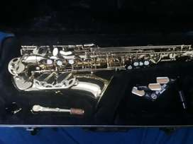Saxofon Alto Jinbao Jbas-200l Dorado Con Estuche Duro boquilla Yamaha 5c
