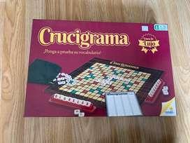 juego de mesa - scrabble (crucigrama) - juego de palabras