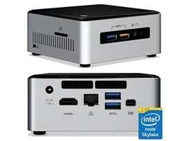 MINI PC INTEL NUC I5 6 TH. GEN 8 GB SSD 128 GB