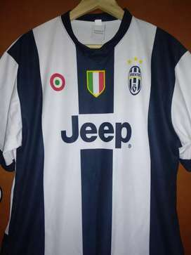 Camiseta Juventus Dybala+morral T. L