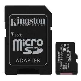 Memoria Kingston 16GB Canvas Select Plus 100MB/S