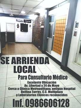 SE ARRIENDA LOCAL PARA CONSULTORIO MEDICO