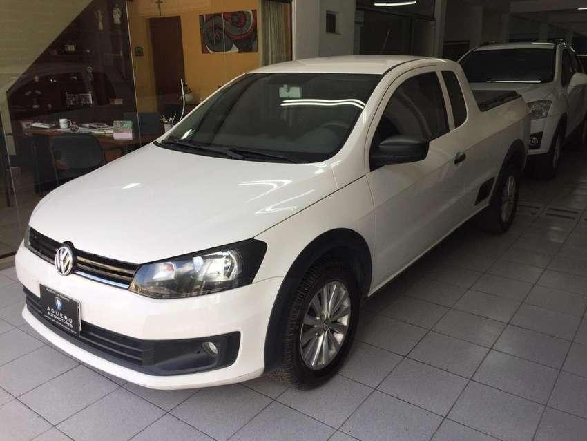 VW SAVEIRO 1.6 CAB EXT  C\GNC MOD. 2014 0