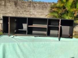 Vendo mueble para tv con o sin puertas